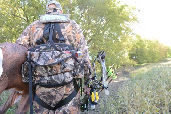 Bowhunting entry route