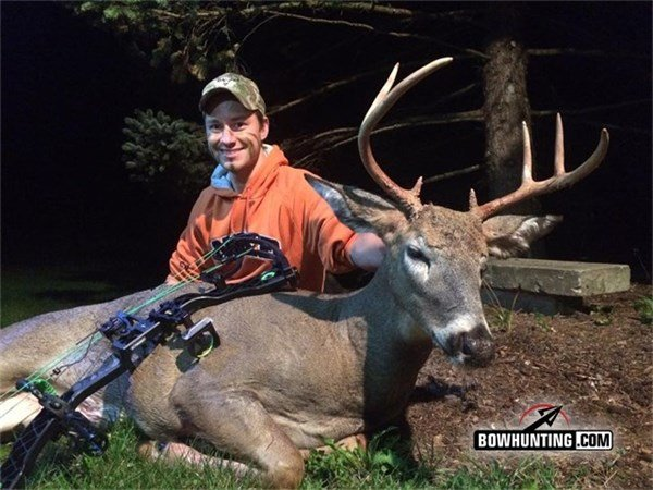 November Bowhunting Action | Two Whitetail Bucks Down on Video