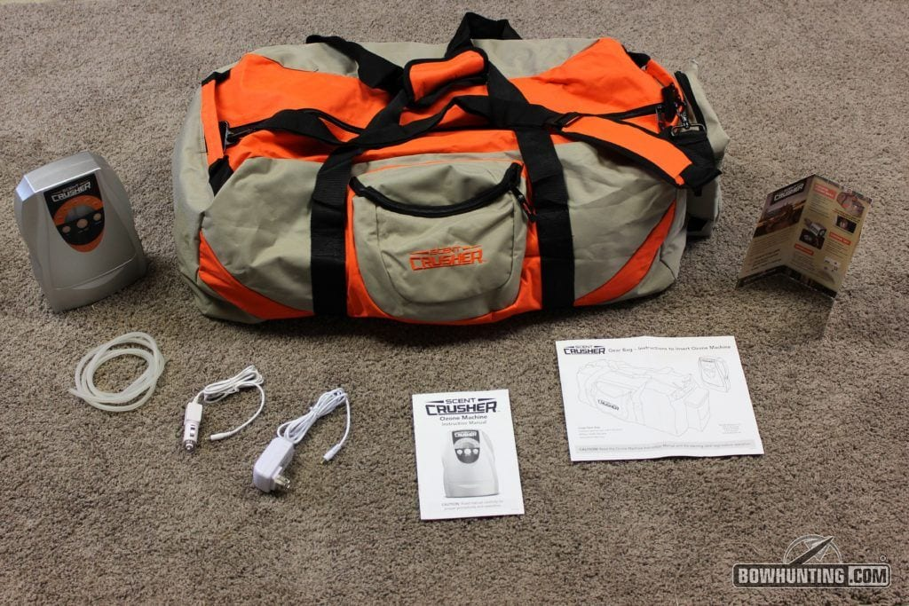 Scent Crusher Ozone Gear Bag Review | Bowhunting com