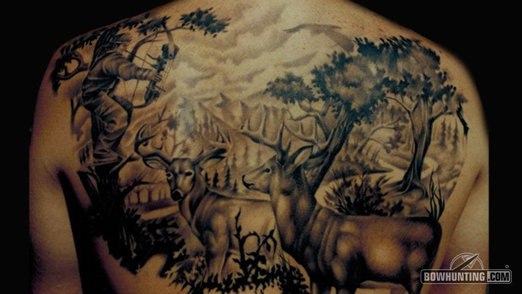 Best Bowhunting Tattoos Bowhunting Com