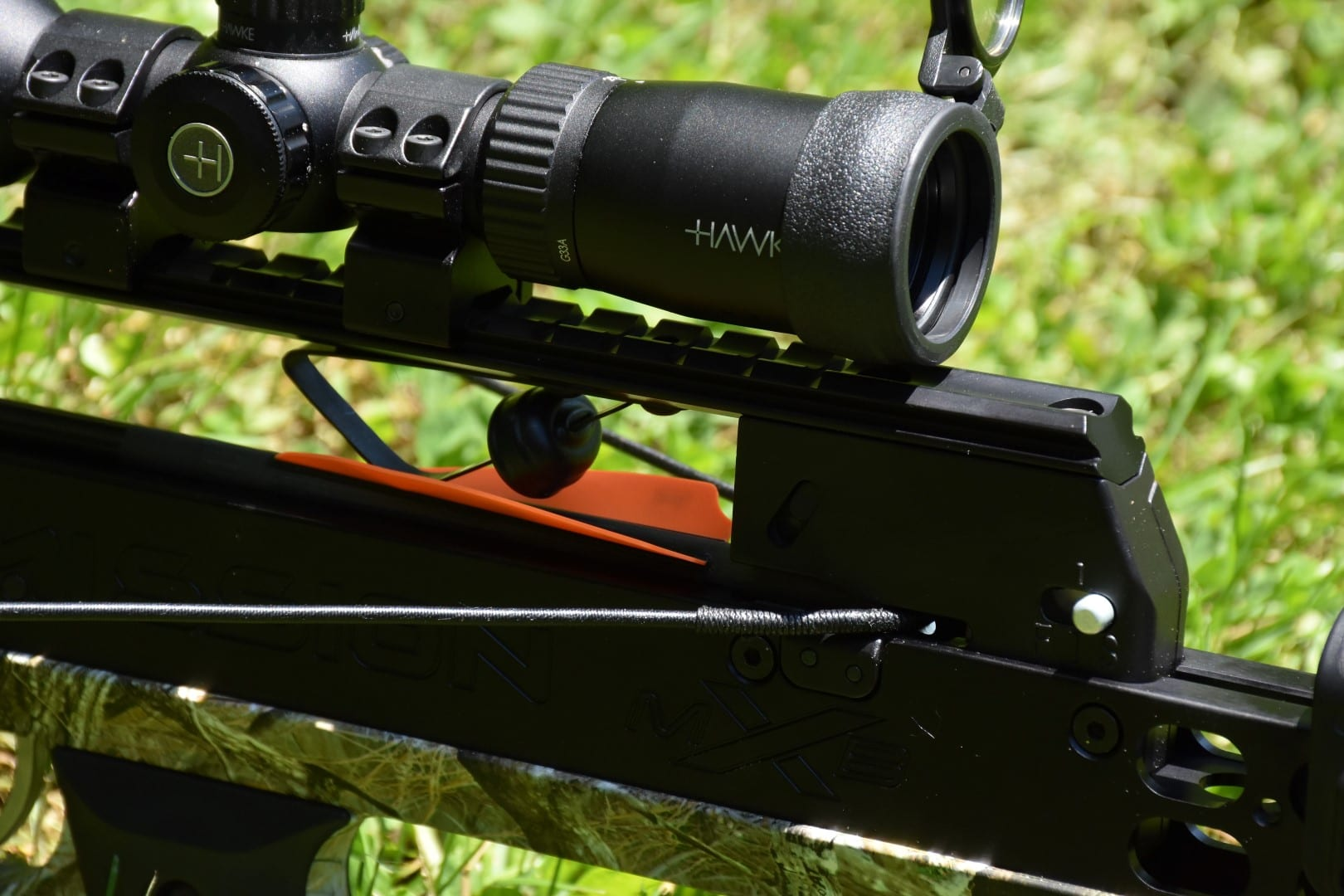 mission charge crossbow scope